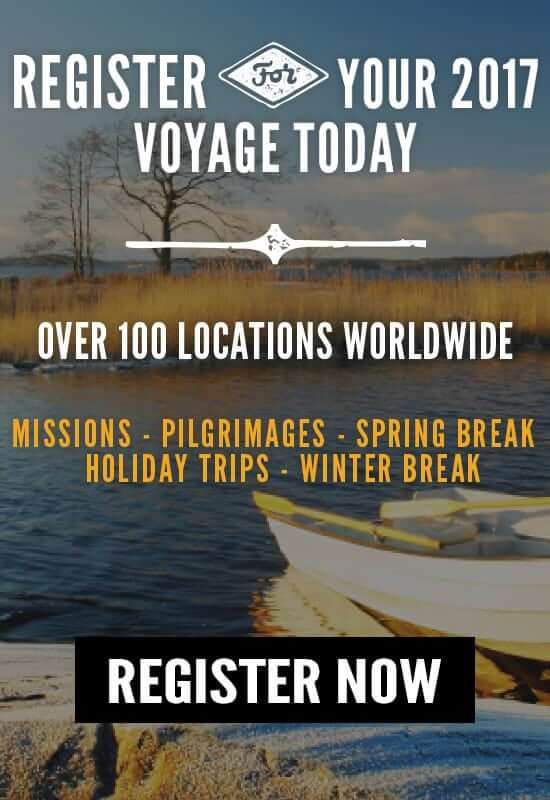 Register for your 2017 Wonder Voyage Today!