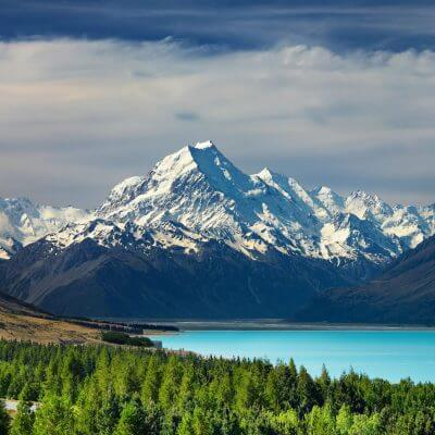 View the vast beauty of the landscape on a Pilgrimage to New Zealand with Wonder Voyage