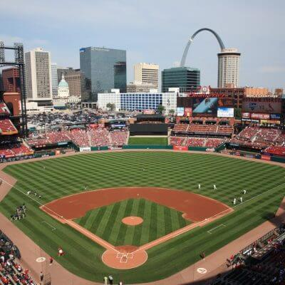 Watch Cardinals baseball on a Mission Trip or Pilgrimage to St. Louis with Wonder Voyage.