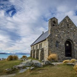 Worship at Church of the Good Shepherd on a Pilgrimage to New Zealand with Wonder Voyage.