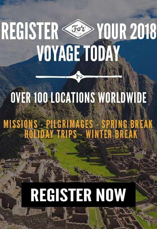 Register for your 2018 Wonder Voyage!