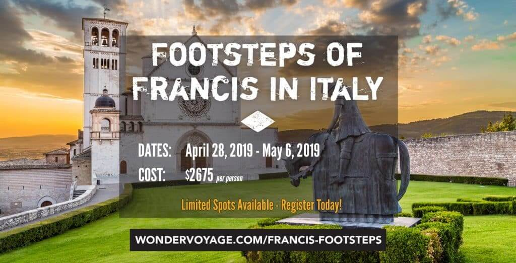 Footsteps of Francis in Italy - Wonder Voyage Adult Trip