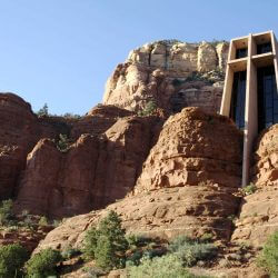 Worship at the Chapel of the Holy Cross on a Mission Trip or Pilgrimage to Arizona with Wonder Voyage.