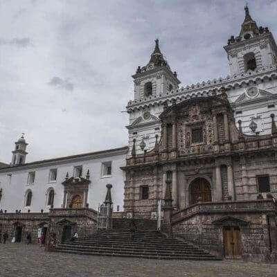 Visit the Iglesia de San Francisco on a Mission Trip or Pilgrimage to Ecuador.