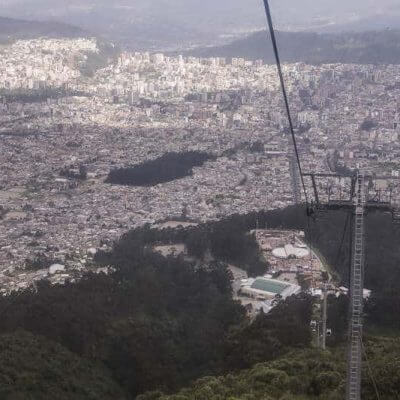 Visit the Teleferico on a Mission Trip or Pilgrimage to Ecuador.