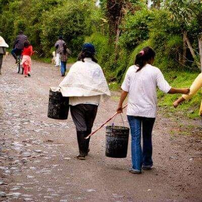 Visit with Local Ecuadorians Mission Trip or Pilgrimage to Ecuador.