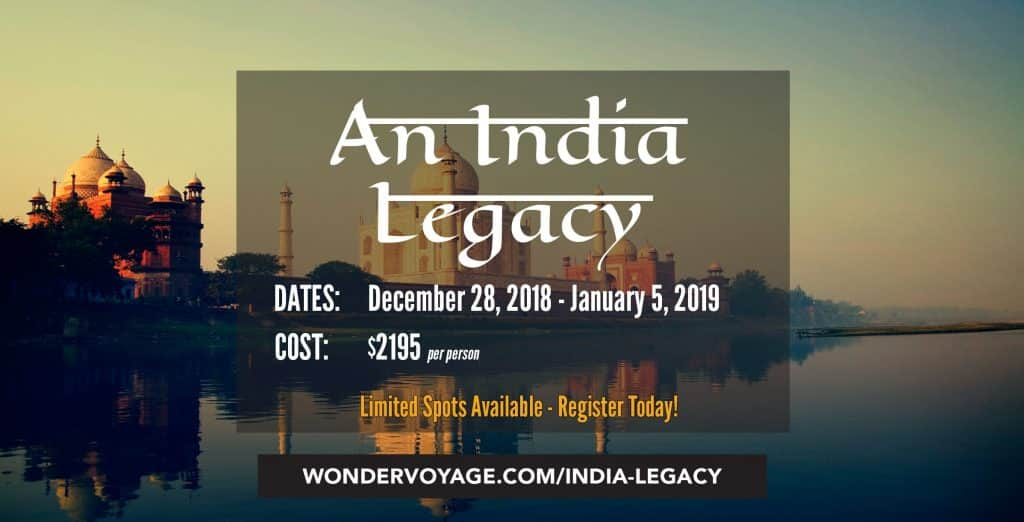 An India Legacy Adult Journey