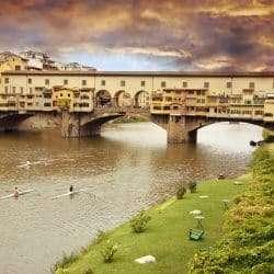 Ponte Vecchio Bridge, Assisi, Italy