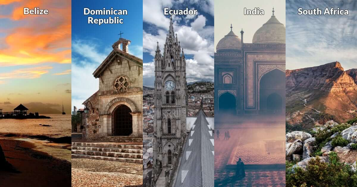 Top 5 Locations for Service-Focused International Trips