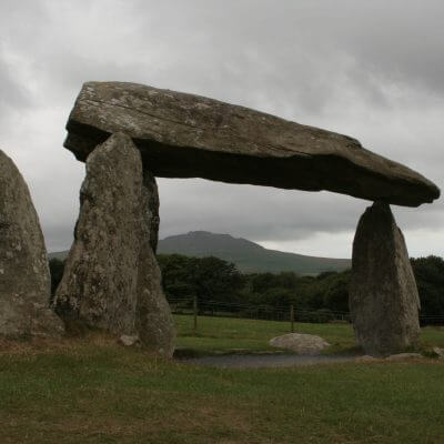 Discover Pentre Ifan Burial Chamber on a pilgrimage or mission trip to Wales with Wonder Voyage.